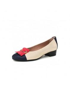 Zapato Salón Flecos....